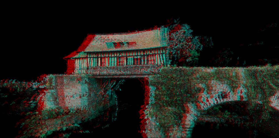 Le vieux Moulin de Vernon en stereo